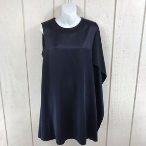 French Connection A-line navy blue dress size 6